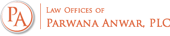 Logo of Law Offices of Parwana Anwar, PLC